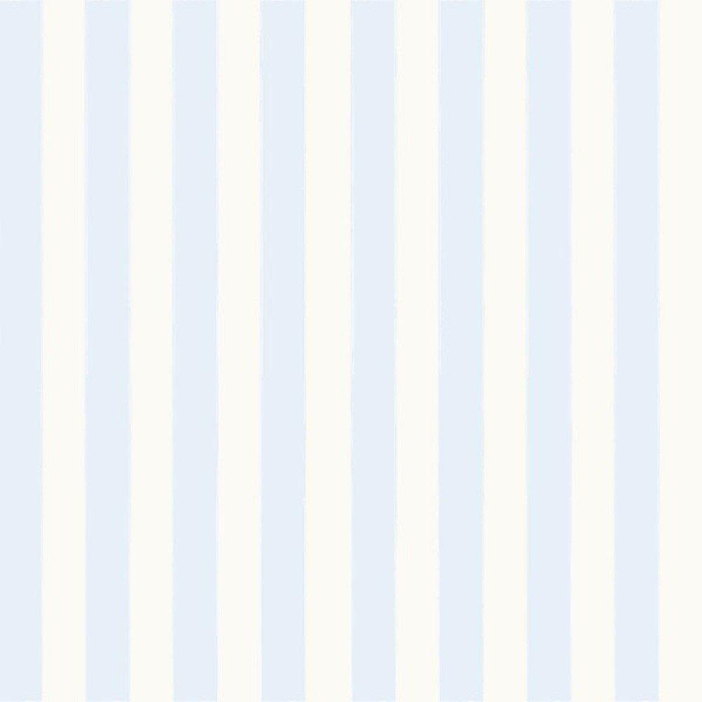 Papel De Parede Coleção Bambinos Azul Bege Listras L01 3328 Bobinex