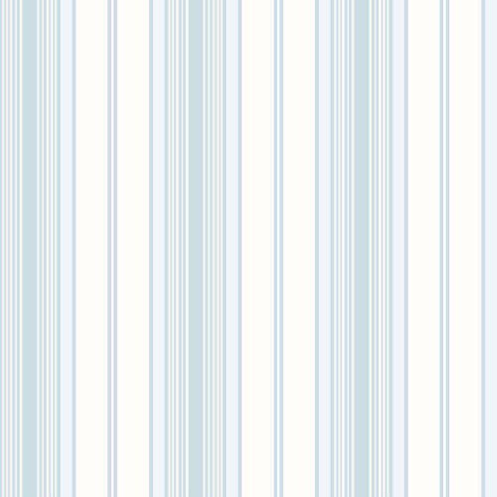 Papel De Parede Coleção Bambinos Azul Branco Listras L01 3362 Bobinex