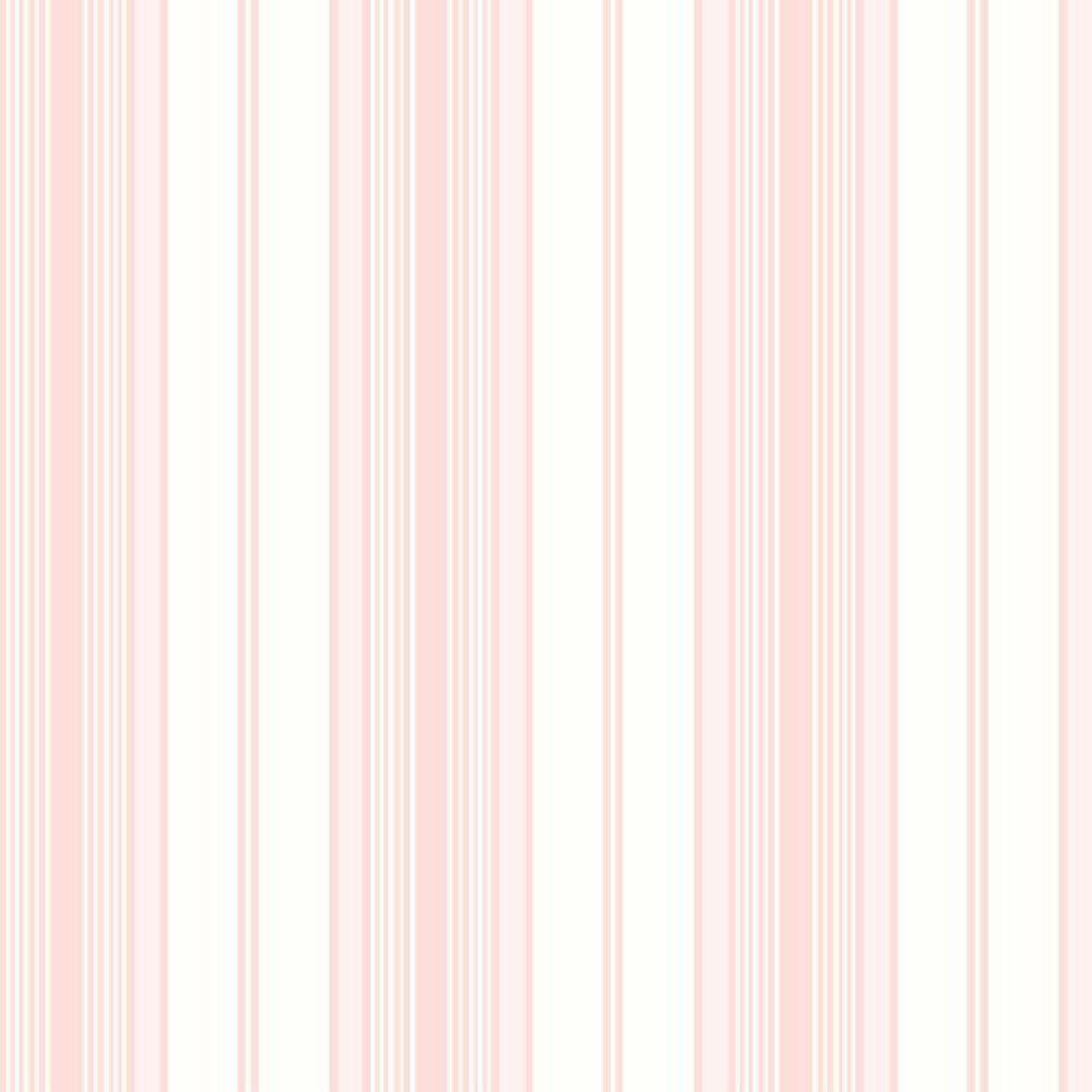 Papel De Parede Coleção Bambinos Rosa Branco Listras L01 3360 Bobinex