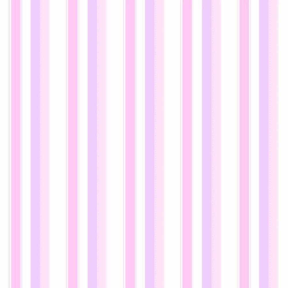 Papel De Parede Coleção Bambinos Rosa Lilás Listras L01 3340 Bobinex
