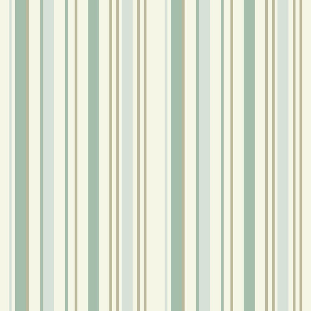 Papel De Parede Coleção Bambinos Verde Branco Listras L01 3319 Bobinex