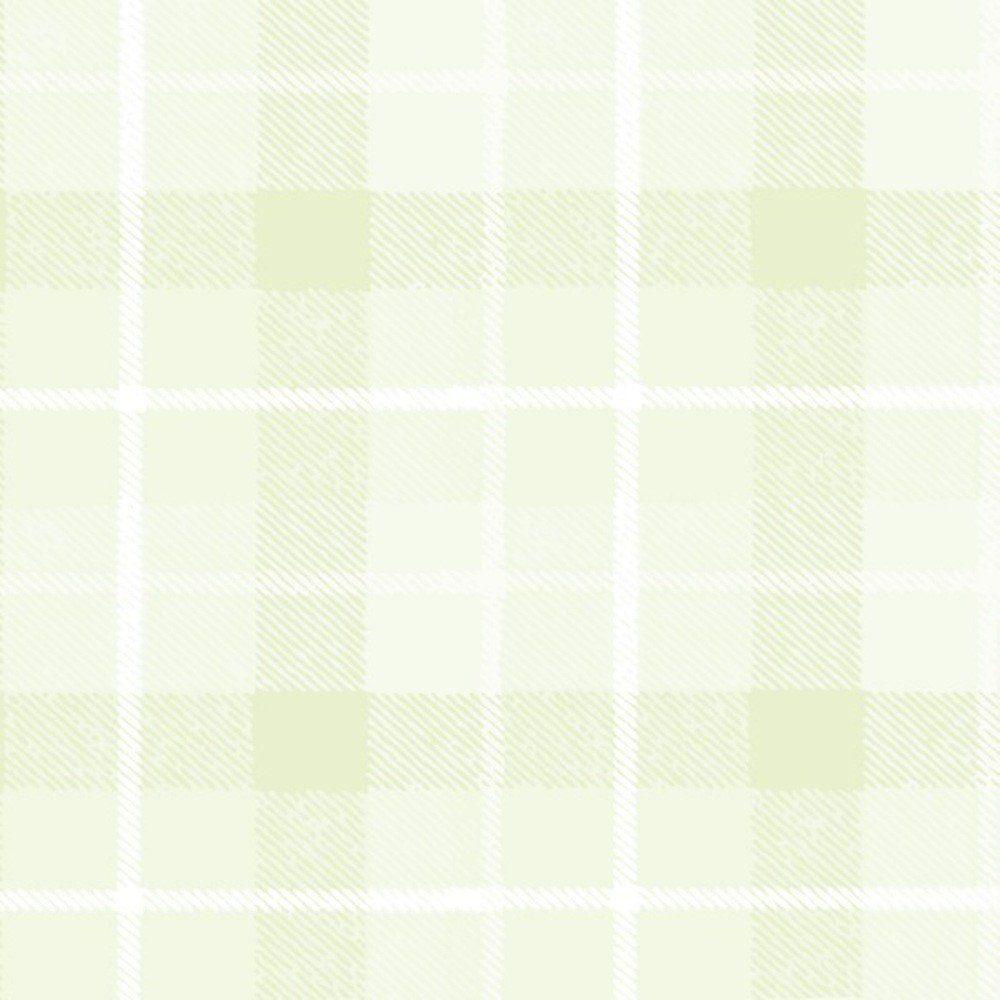 Papel De Parede Coleção Bambinos Verde Xadrez L01 3329 Bobinex