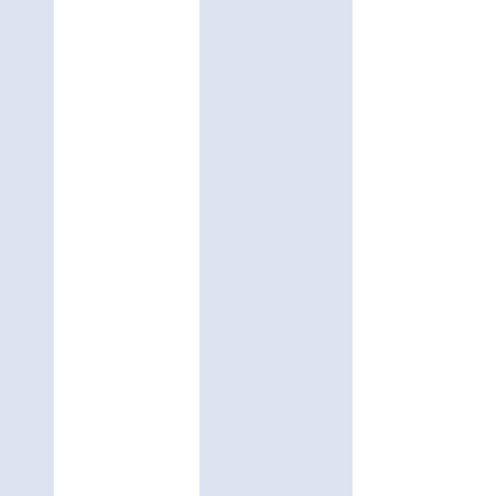 Papel De Parede Coleção Bim Bum Bam Branco Azul Listras L01 2253 Cristiana Masi