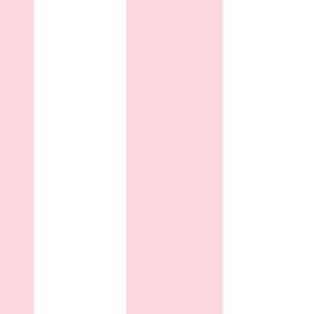 Papel De Parede Coleção Bim Bum Bam Branco Rosa Listras L01 2254 Cristiana Masi
