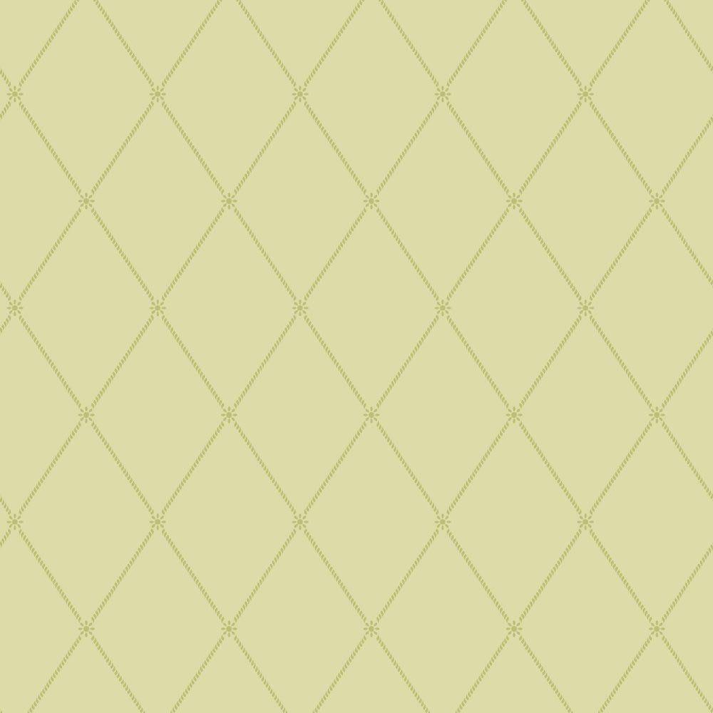 Papel De Parede Coleção Bim Bum Bam Verde Quadriculado L01 2215 Cristiana Masi