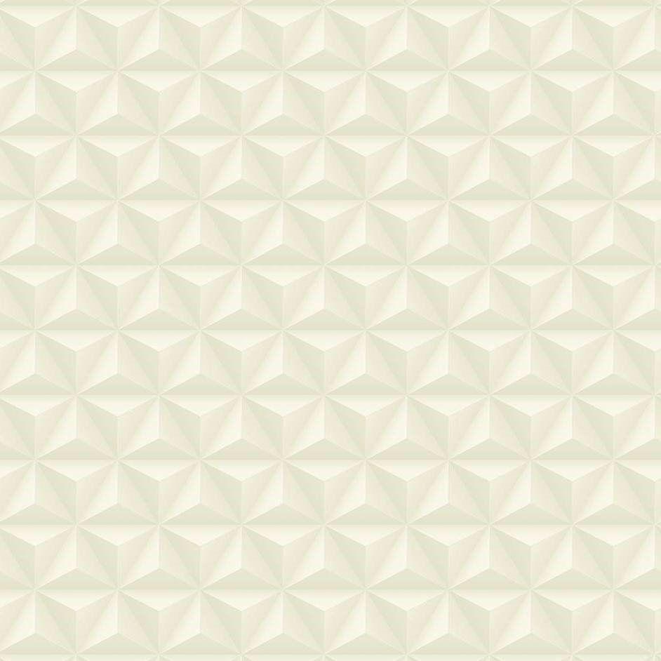 Papel De Parede Coleção Diplomata Geométrico 3D Bege Claro L01 3105