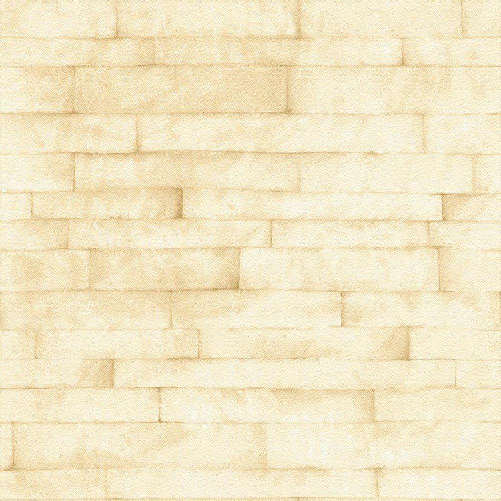 Papel de Parede Natural Bege Tijolinho L01 1417 Bobinex