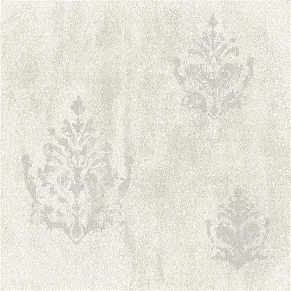 Papel de Parede Natural Cinza Madeira Arabesco L01 1427 Bobinex