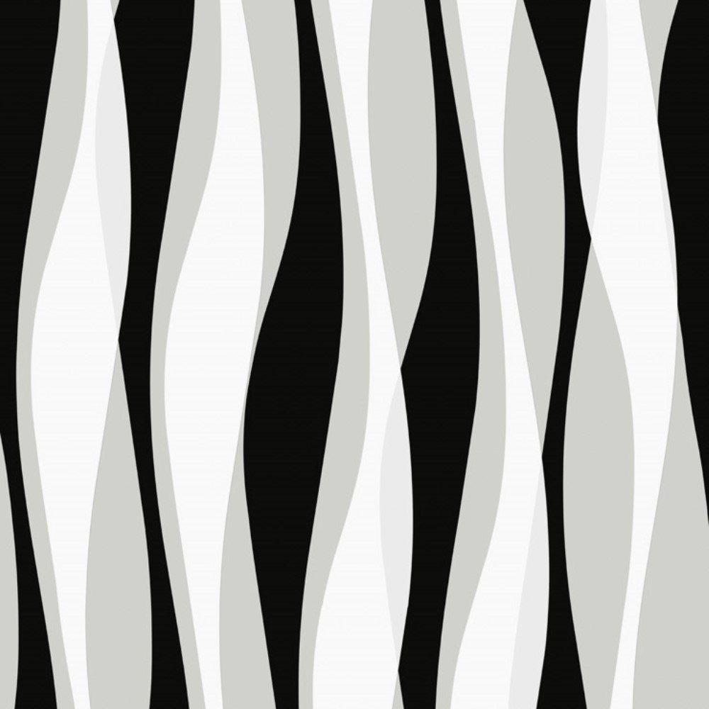 Papel de Parede Relevos 3D Preto L01 3449 Bobinex