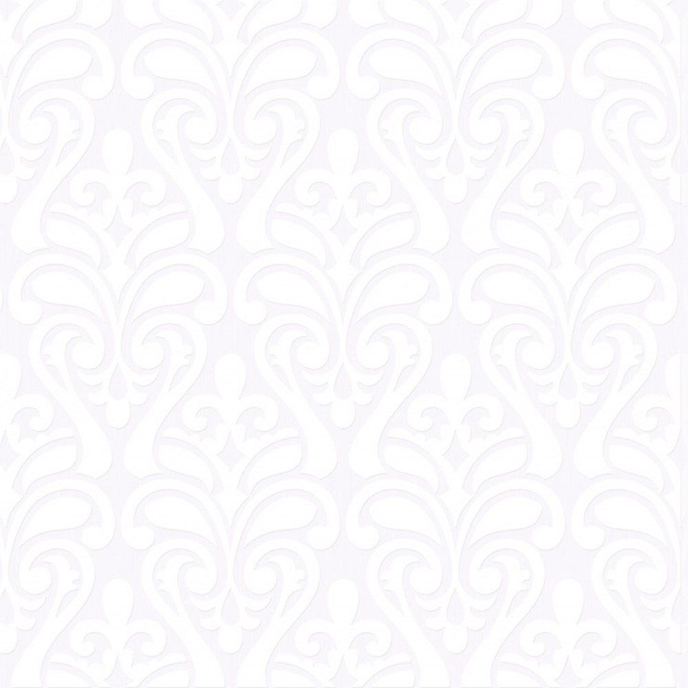 Papel de Parede Relevos Arabesco Branco L01 3408 Bobinex