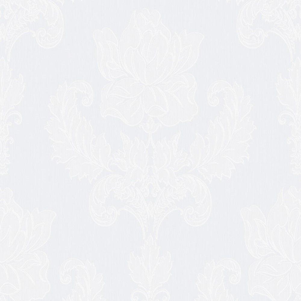 Papel de Parede Relevos Arabesco Vazado Branco L01 3403 Bobinex