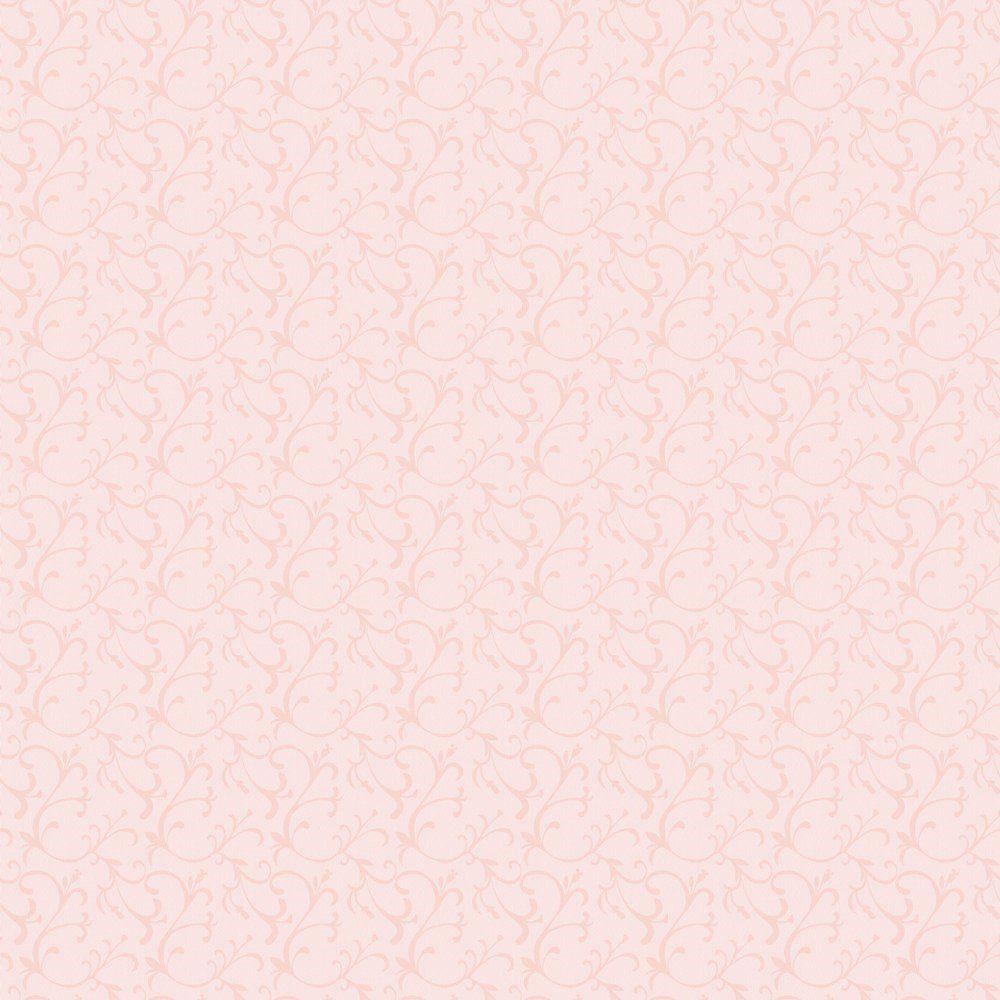 Papel De Parede Coleção Infantário Rosa Arabesco L01 1730 Bobinex