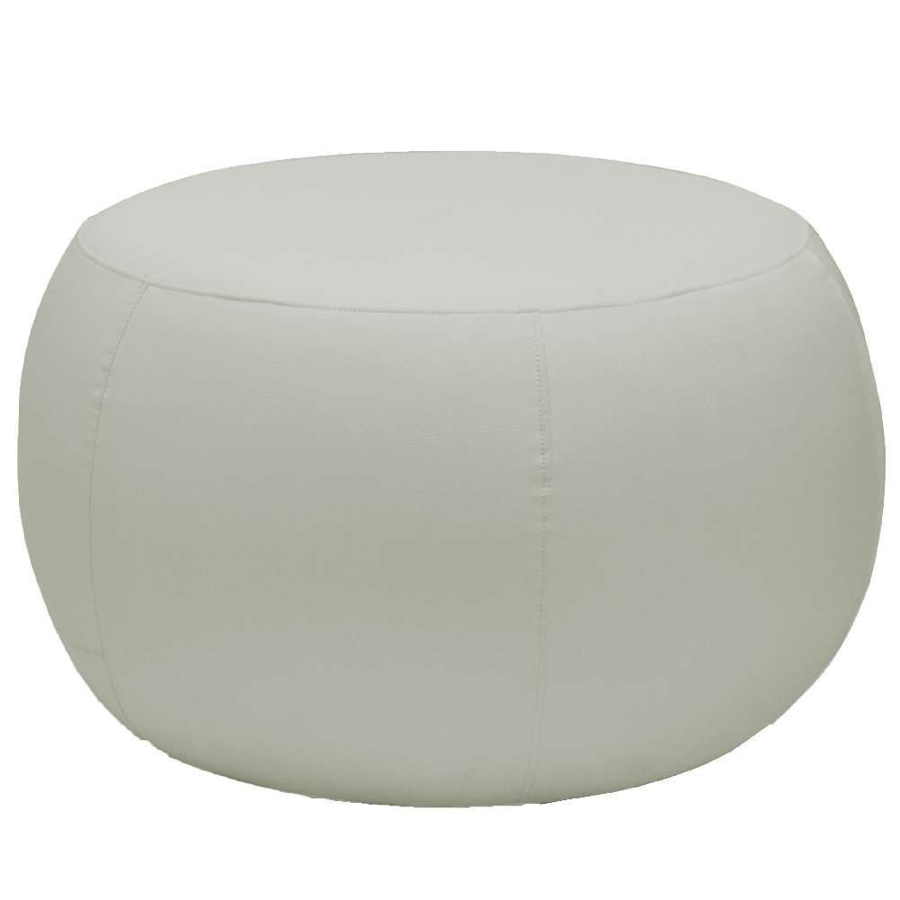 Puff Banqueta Decorativa Para Sala de Estar Golf D02 70 cm Corano Bege C-26 - Lyam Decor