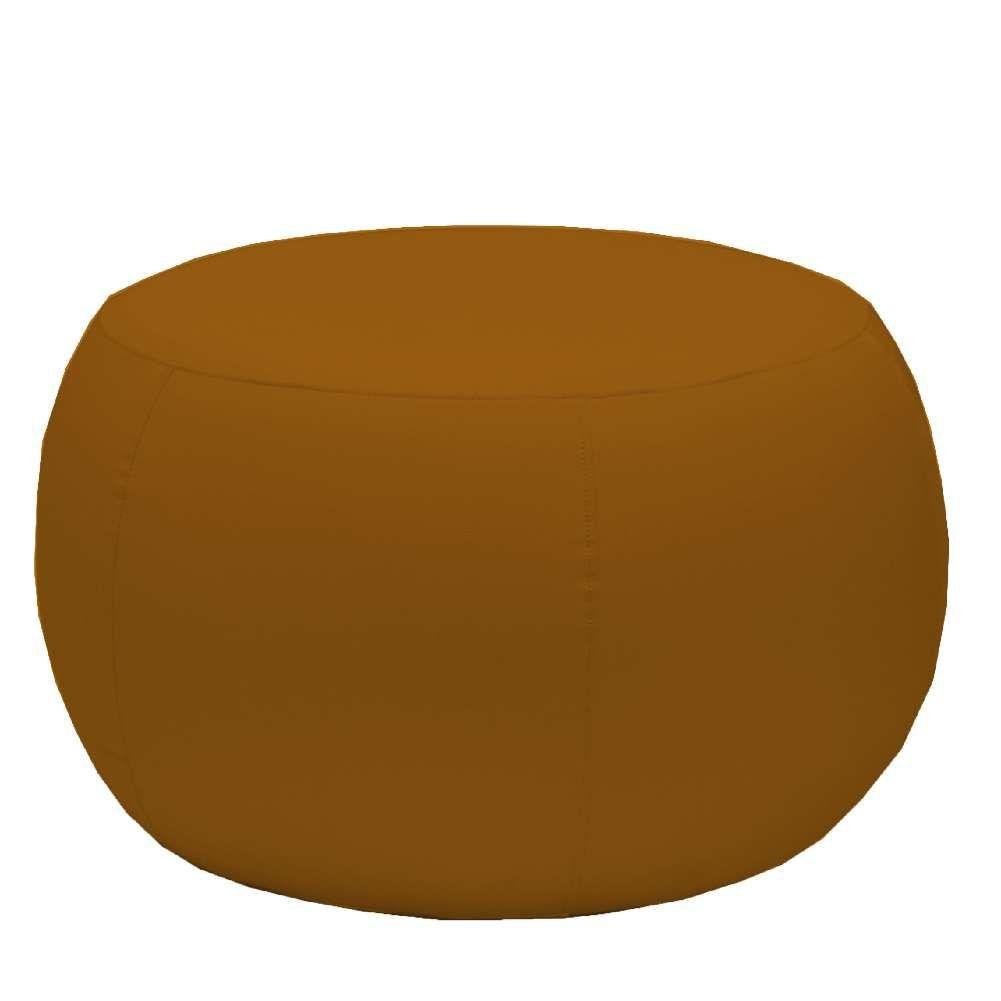 Puff Banqueta Decorativa Para Sala de Estar Golf D02 70 cm Corano Camel C-02 - Lyam Decor