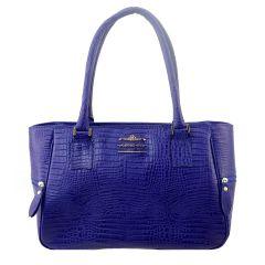Bolsa com Divisórias Feminina Azul