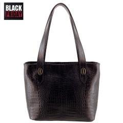 Bolsa de Couro Pequena Black