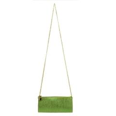 Bolsa de Festa Metalizado Verde Claro