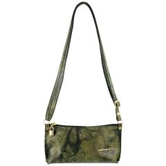 Bolsa de Mão ou Necessaire com Alça Color Esverdeado