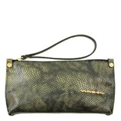Bolsa de Mão ou Necessaire com Alça Esverdeado