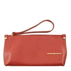 Bolsa de Mão ou Necessaire com Alça Vermelho