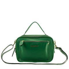 Bolsa em Couro Legítimo Pequena Verde