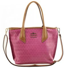 afc74770d0 Bolsa Feminina de Couro Pink