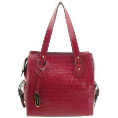 Bolsa Feminina Pequena Couro Rosê