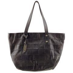 Bolsa Feminina Patchwork Black