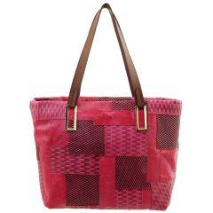 Bolsa Feminina Patchwork Pink