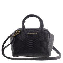 Mini Bag de Mão Preto Fosco