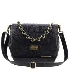 Bolsa Premium de Couro Legítimo Black