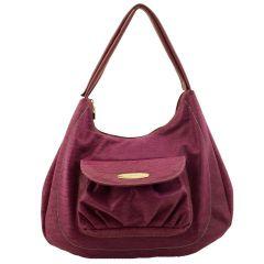 Bolsa Saco Grande Púrpura