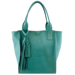 Bolsa Sacola Feminina Azul Piscina