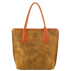 Bolsa Shopping Bag Camel