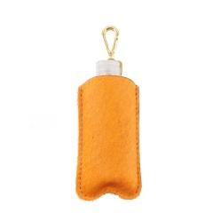 Porta Álcool em Gel Pêlo Orange