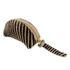 Porta Níquel Pequeno Pêlo Zebra