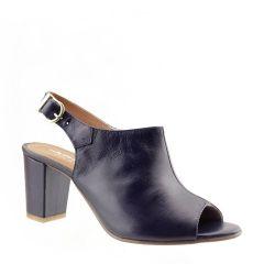 Sandal Boot de Couro Legítimo Azul Marinho