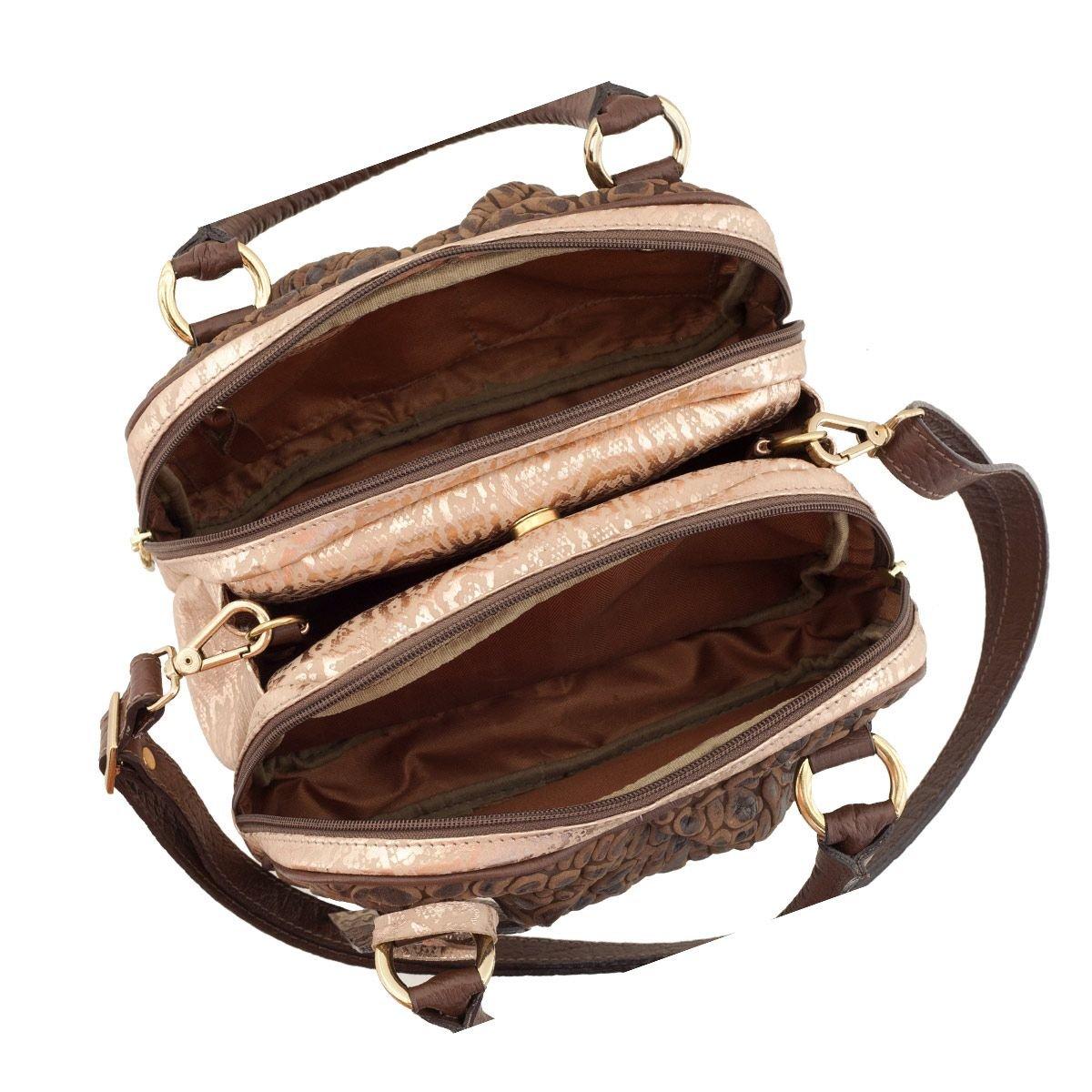 Bolsa Baú de Mão Chocolate
