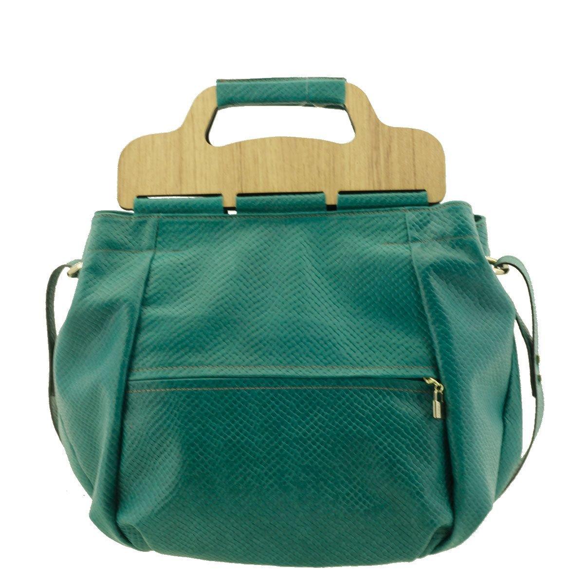 Bolsa com Alça de Mão Verde