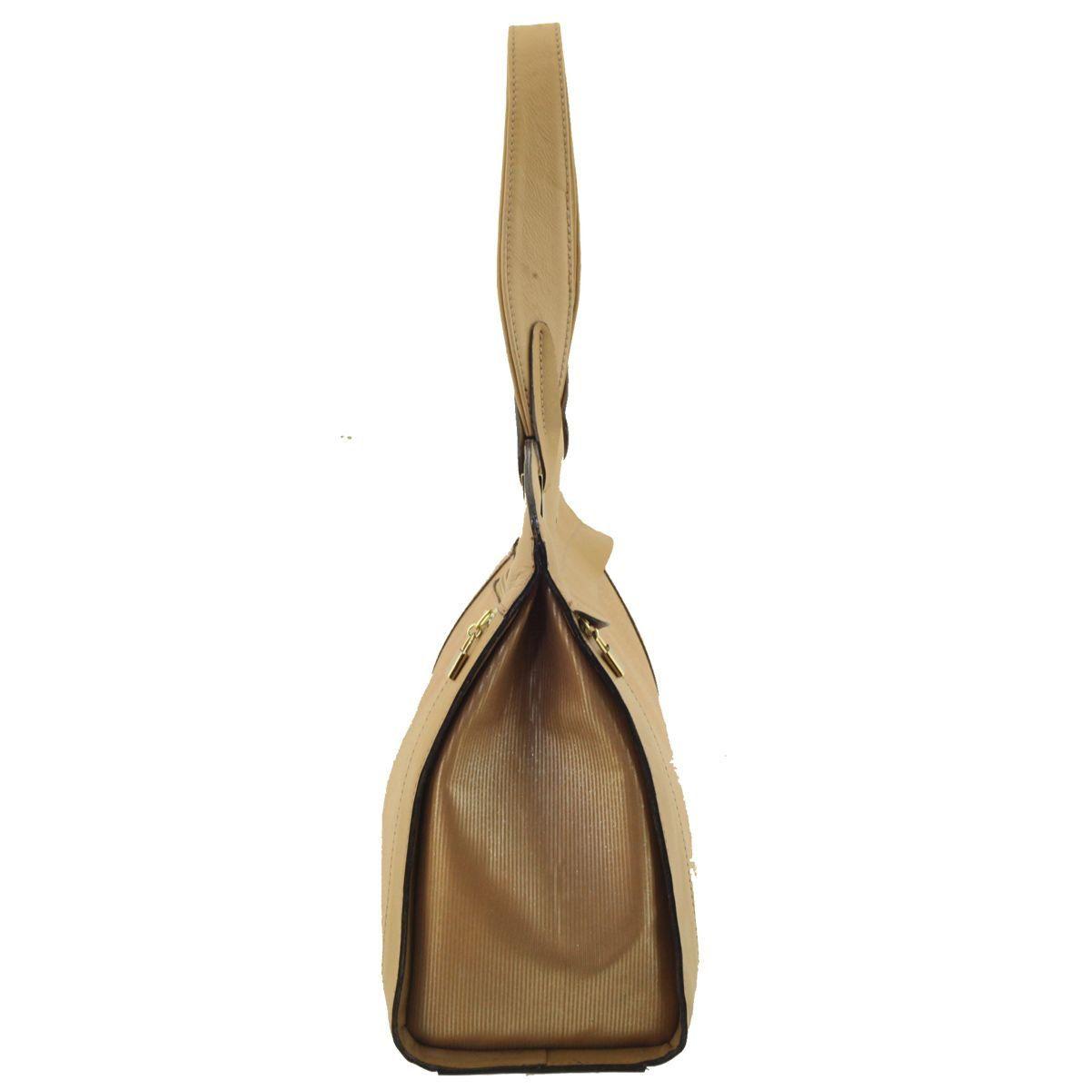 Bolsa com Alça Única Caramelo