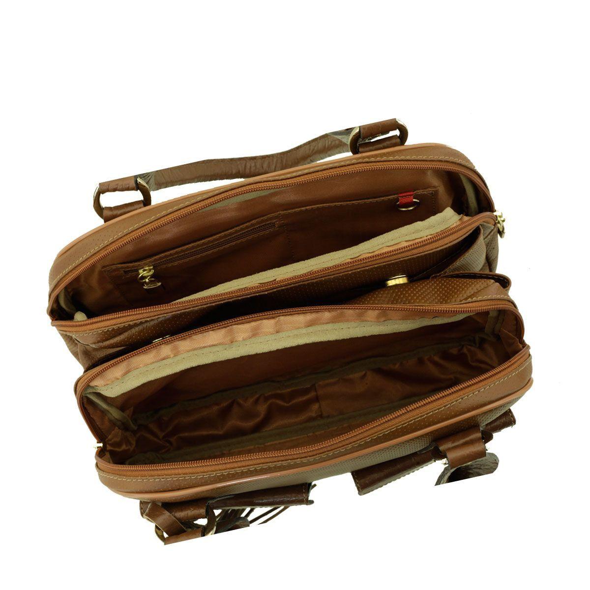 Bolsa com Divisórias Chocolate