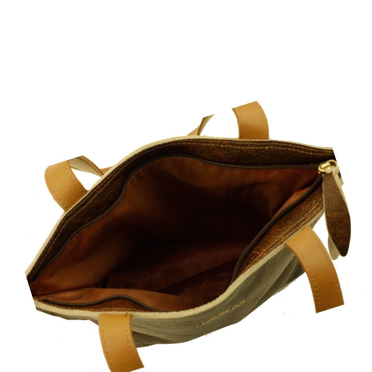 Bolsa Couro Verão Chocolate