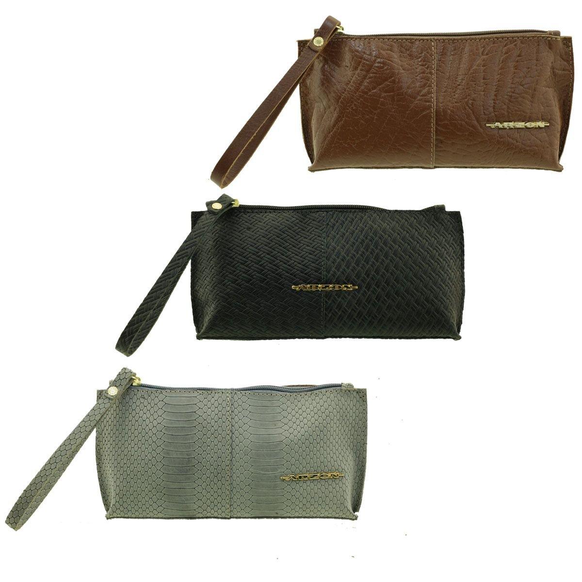 Bolsa de mão ou Necessaire com alça Black