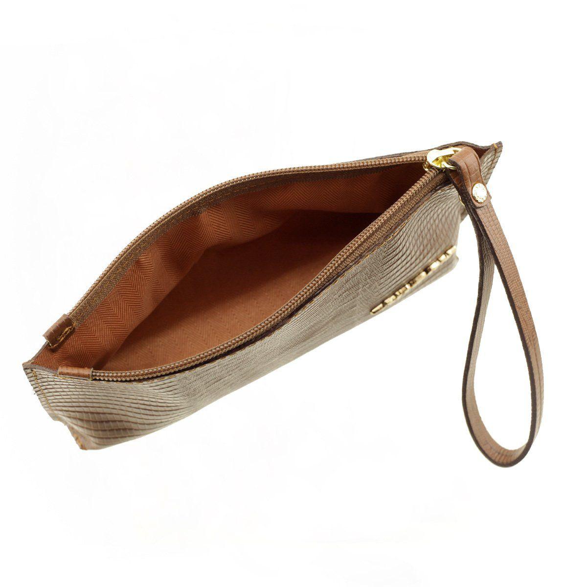 6904b4e97c82f ... Bolsa de Mão ou Necessaire com Alça Café - ARZON ...