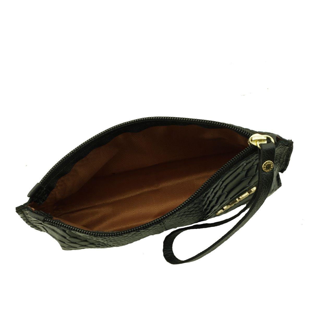 Bolsa de mão ou Necessaire com alça Preta