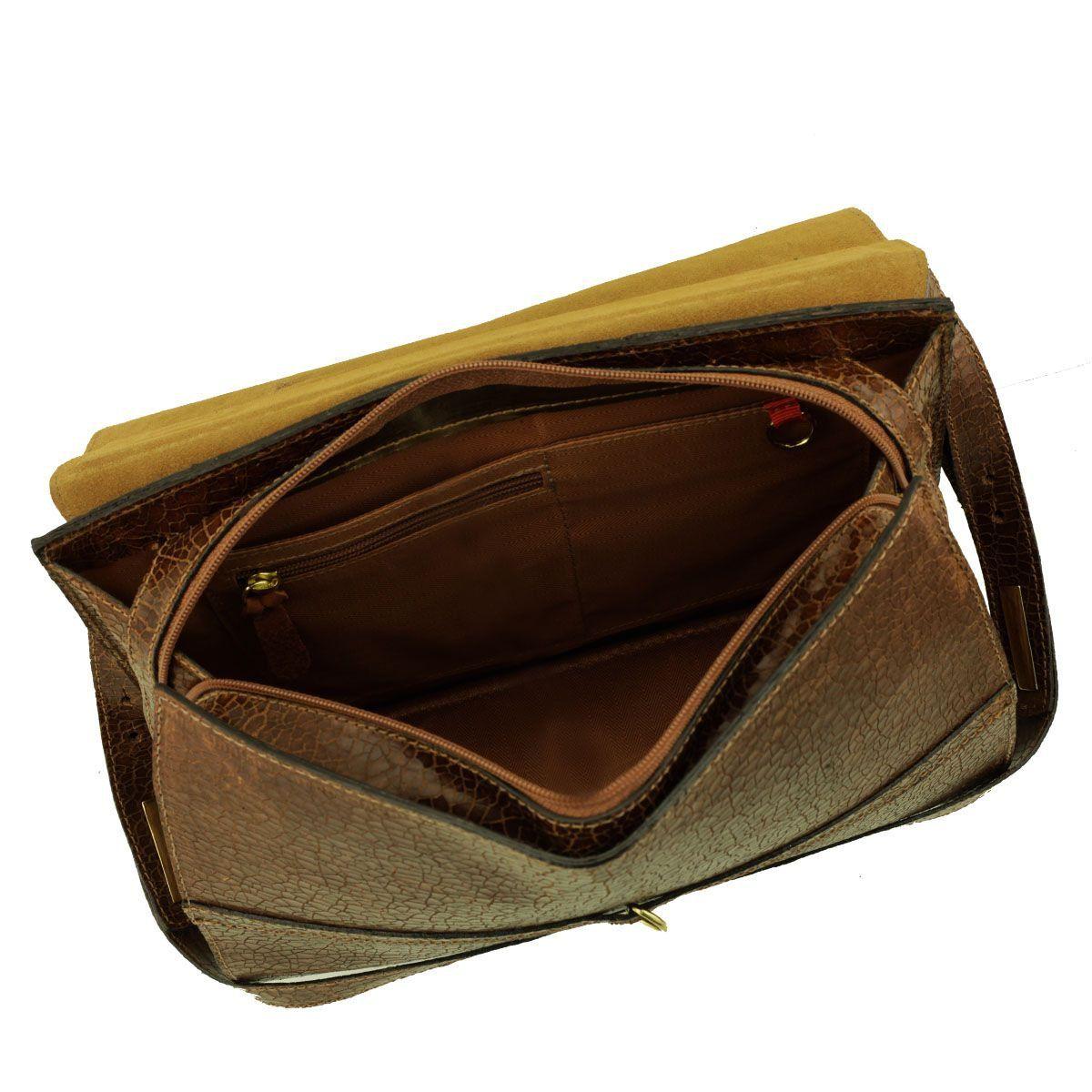 Bolsa Estruturada ARZON Chocolate