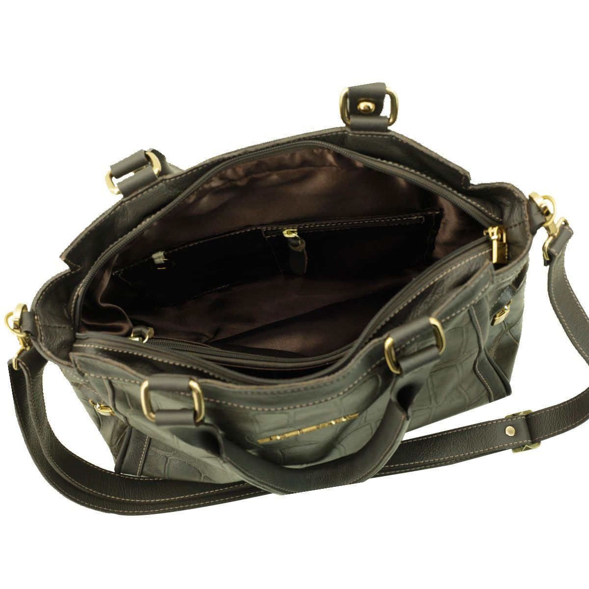 Bolsa Feminina ARZON Verde Escuro