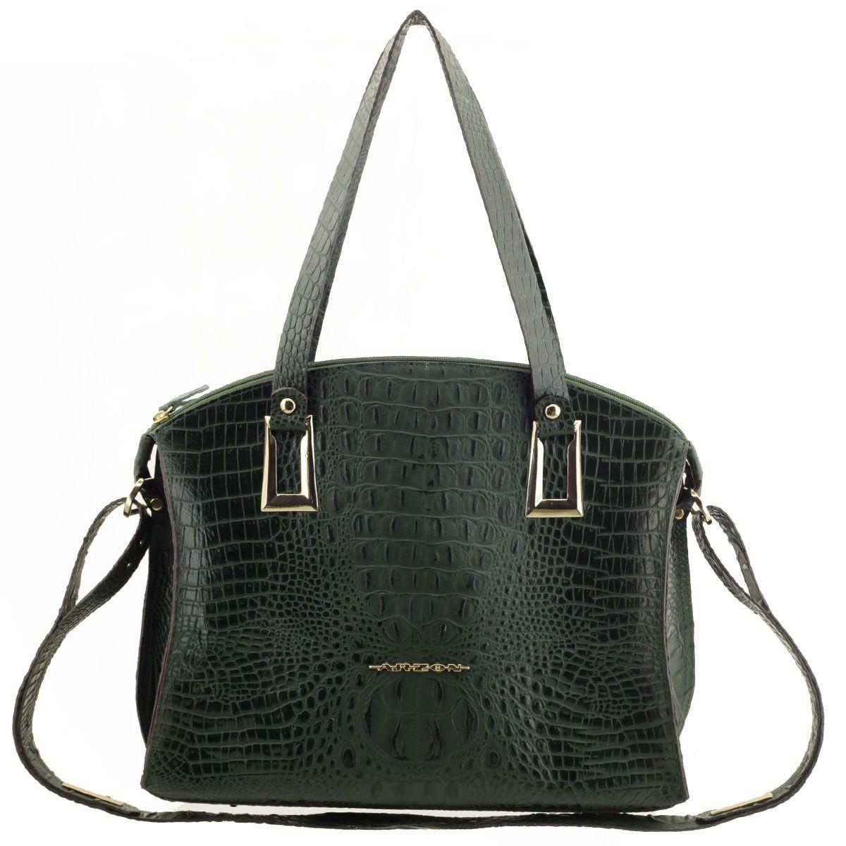 Bolsa Feminina Grande Verde Escuro