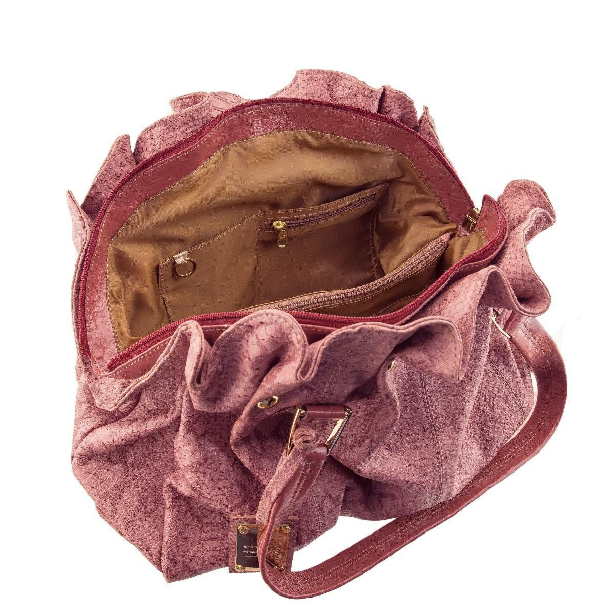 Bolsa Grande de Ombro Rosê
