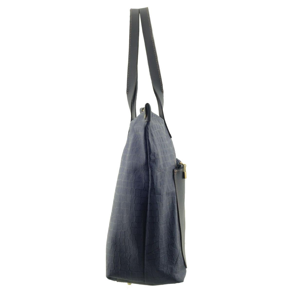 Bolsa Grande Feminina Azul